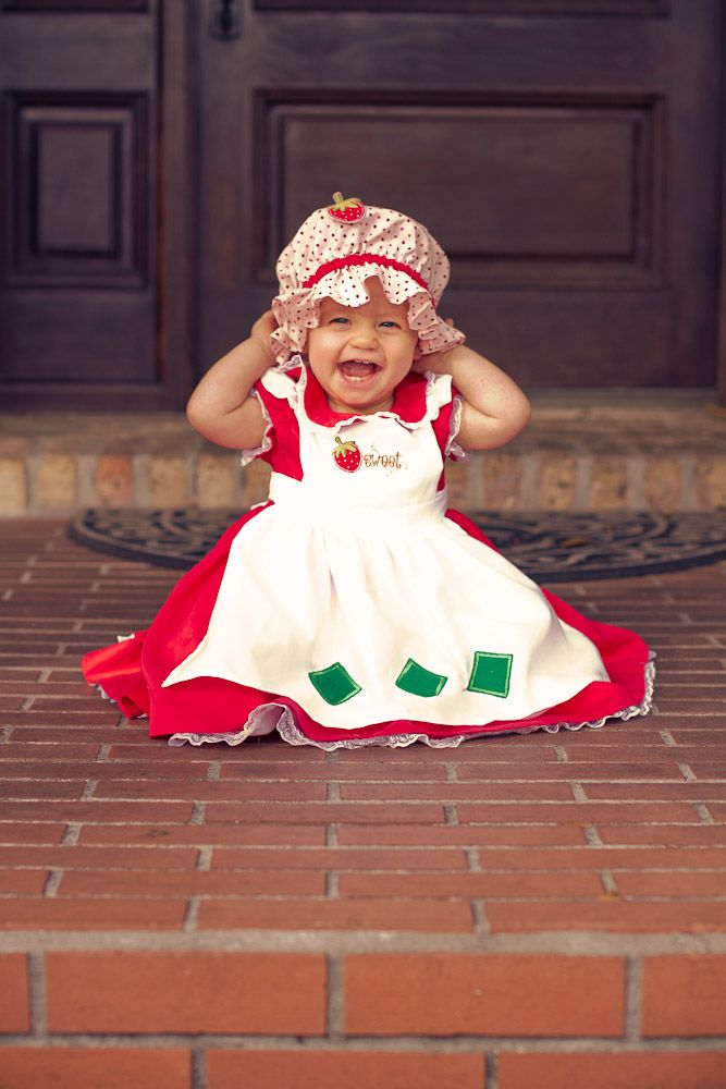 Strawberry Shortcake costume for babies