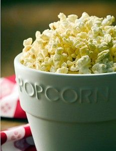 Spicy Popcorn from Jennifer Motl: Pop a batch on the stove top, and it costs pennies per serving, far less than microwave popcorn, plus no artificial flavors or colors. Homemade popcorn just tastes fresher. And who knew this all-American favorite was a whole grain snack?