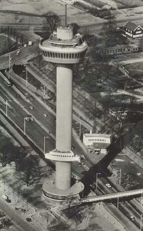 Euromast 1960 Rotterdam