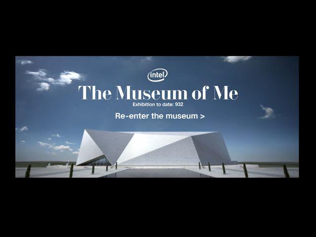 Intel® The Museum of MeのWebデザイン http://www.intel.com/museumofme/