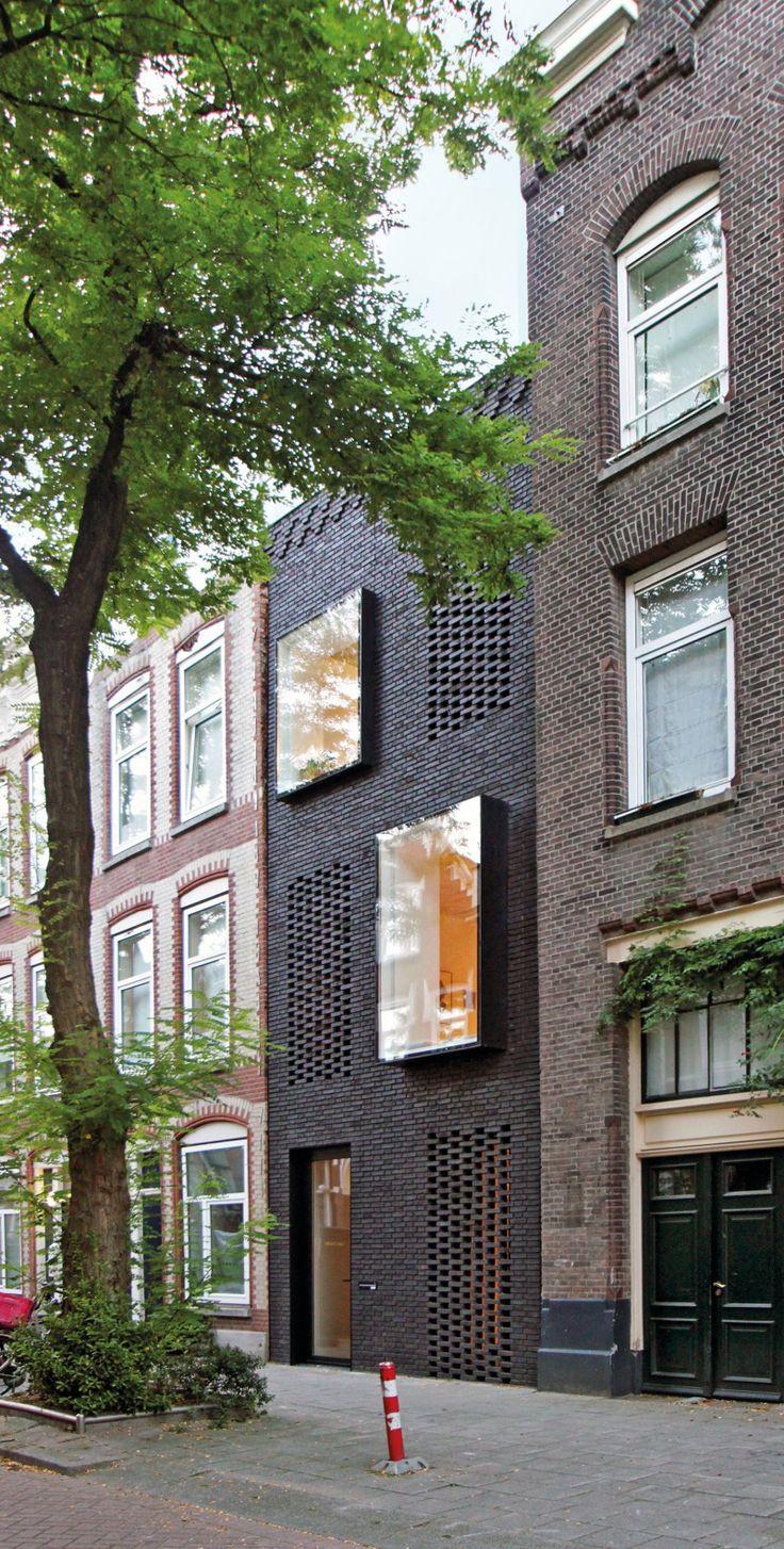 Edifício residencial SkinnySCAR Rotterdam Huisman Botermann DBZ German Construction Magazine   – Architecture