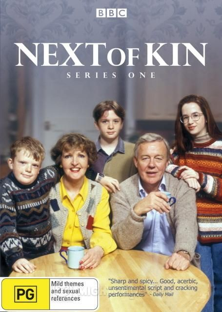 'Next of Kin' (1995-1998) British comedy series starring Penelope Keith & William Gaunt as reluctant grandparents who have spent their lives doing exactly as they want. The plan  for retirement is a house in France, excellent food & wine a few select friends. However, their estranged son & his politically correct wife have died in a car crash, leaving Maggie & Andrew as the only next of kin to their three brattish grandchildren. Days turn into months & the kids are here to stay!