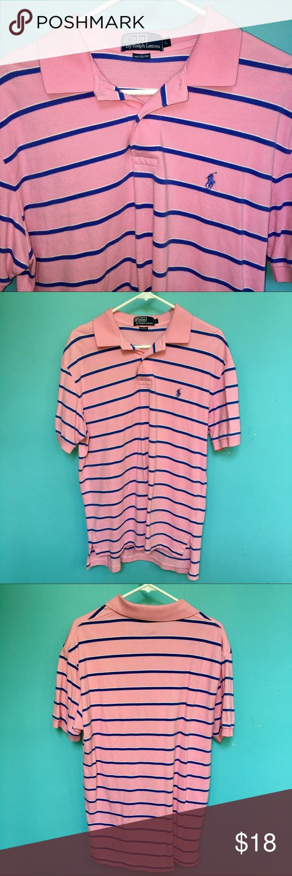 Polo Ralph Lauren Pink Polo Shirt Men's L Polo Ralph Lauren Pink Polo Shirt Men's L in very good condition Polo by Ralph Lauren Shirts Polos