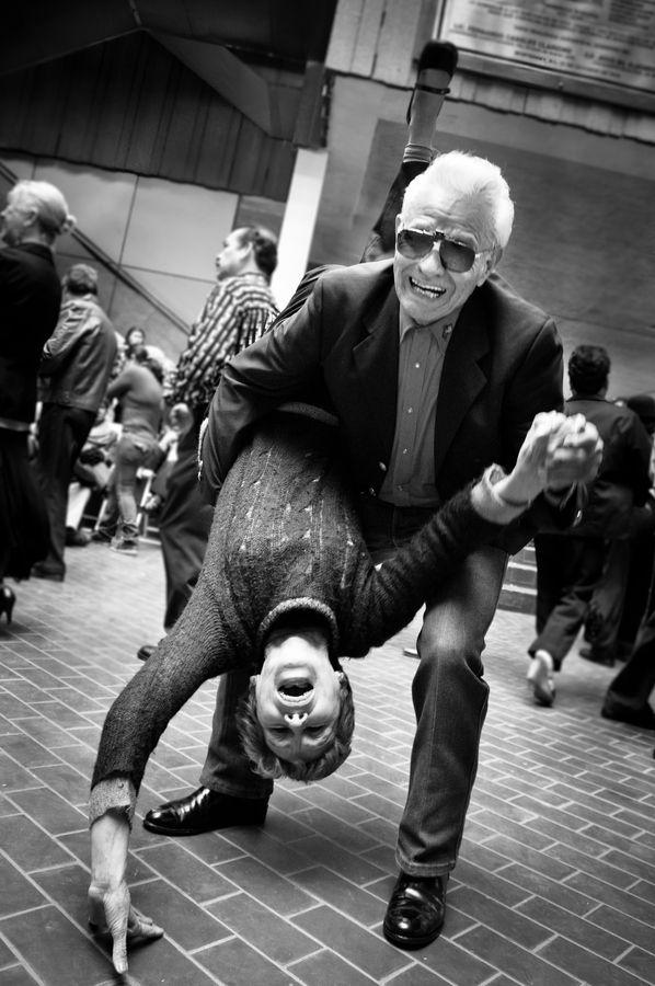 I love old people.