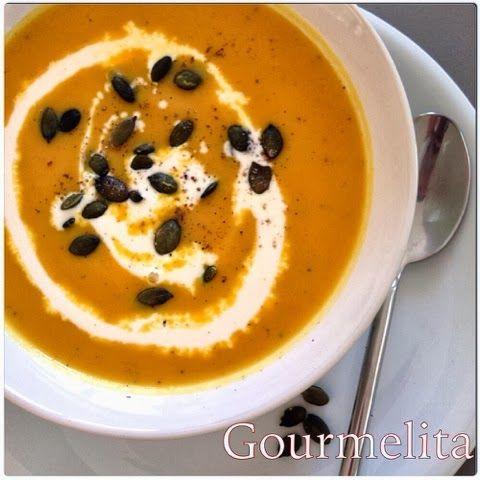 Gourmelita: Pumpkin Soup