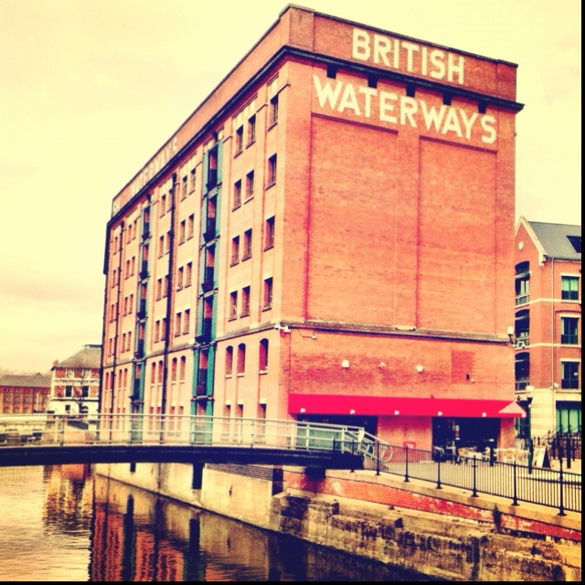 Nottingham #britishwaterways #typography