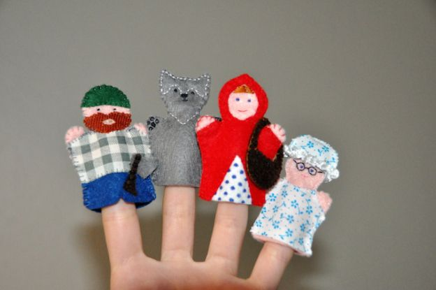 Little Red Riding Hood and other Finger Puppets | Home Fairy