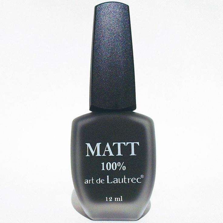#Matt #Zwart #Nagellak