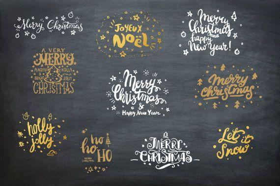 clipart | Christmas clipart | Christmas | christmas greetings | christmas overlays | photo overlays | photoshop  40 ELEMENTI GRAFICI (4 colori per ogni immagne) per PHOTOSHOP creati per decorare i vostri fotolibri, design, fotografie, cartoline e biglietti in occasione del Natale.  I file sono in una dimensione di 700 pixel ciascuno Larchivio zip contiene:  ♥ 10 clipart in formato PNG di colore nero con sfondo trasparente ♥ 10 clipart in formato PNG di colore bianco con sfondo trasparente ♥…