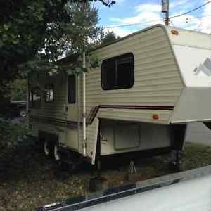 REDUCED! MUST SELL! 22 ft. Travel Mate 5 th wheel for sale Vernon British Columbia image 1