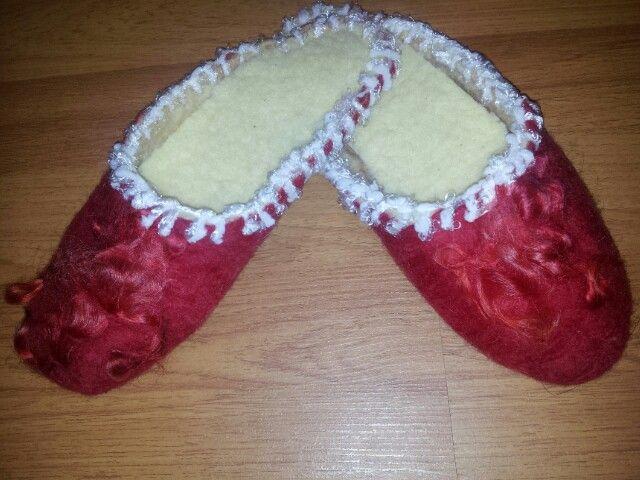 Pantuflitas rojas