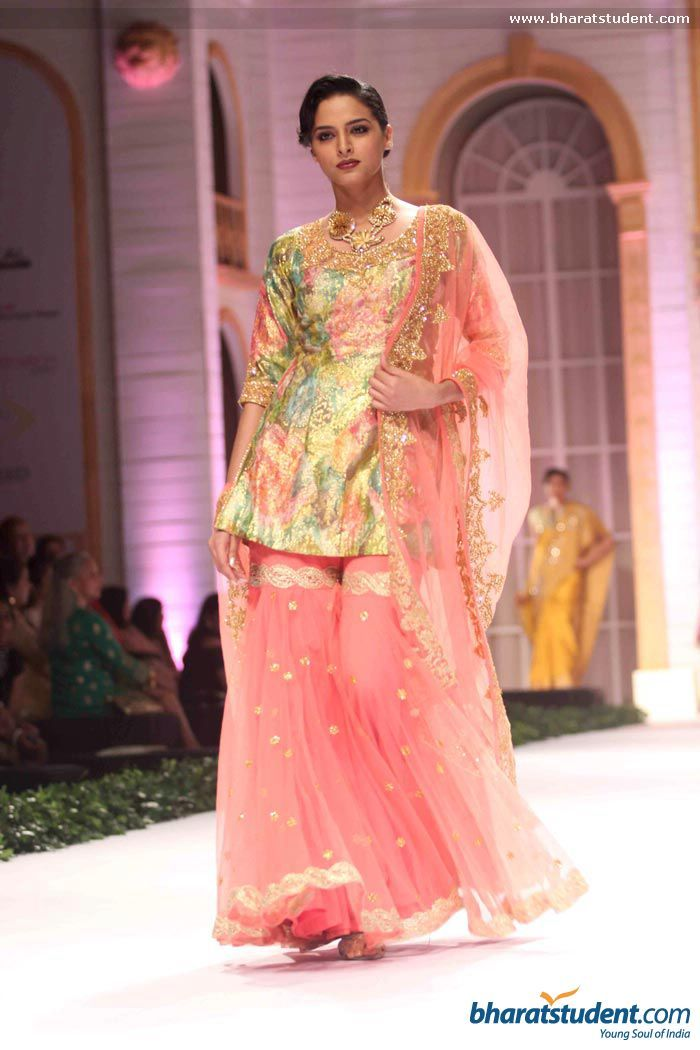 Gharara by Pallavi Jaikishan at Aamby Valley City India Bridal Fashion Week 2013