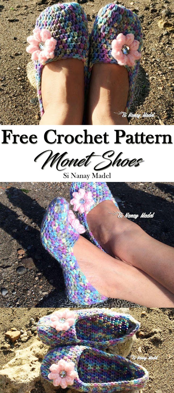MONET CROCHET SHOES