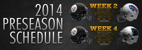 Dates and times for preseason home games