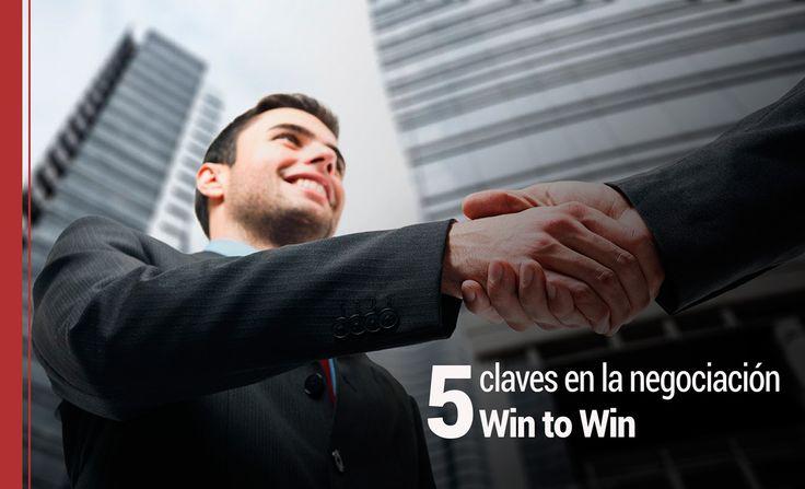 """El win to win es una negociación que rompe radicalmente con el """"yo gano, tu pierdes"""", donde se persigue el beneficio mutuo de las partes implicadas."""