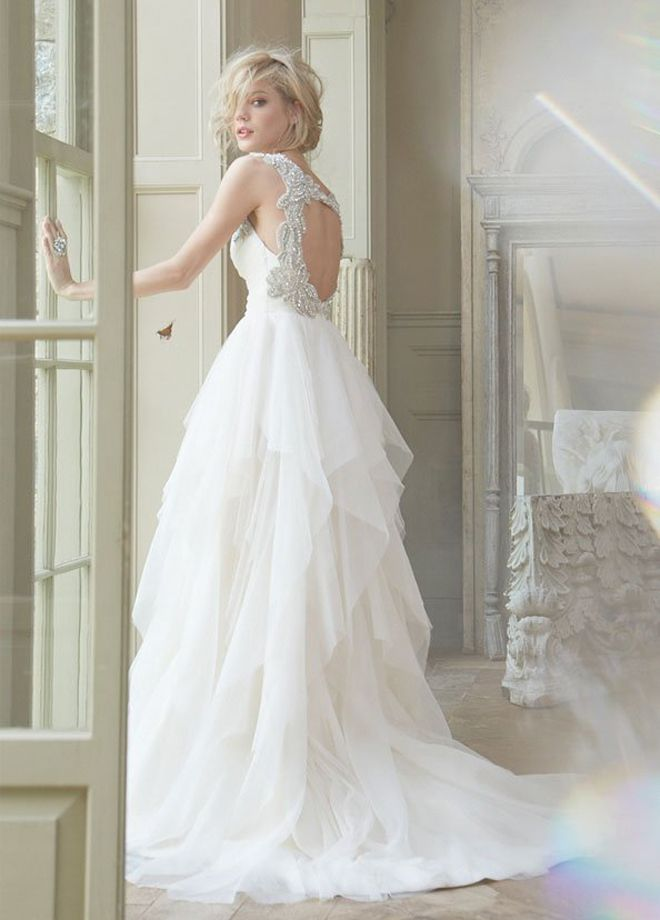 Hayley Paige Fall 2013 Bridal Collection - would love to photograph this dress...
