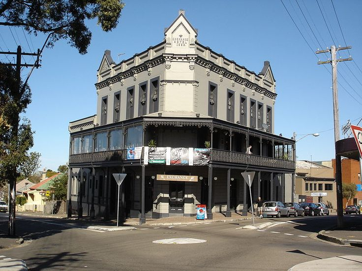 The Exchange Hotel is an historic pub in the suburb of Balmain in the Inner West of Sydney, in the state of New South Wales, Australia. The Exchange Hotel was the last pub to be built during the local boom of the 1880s
