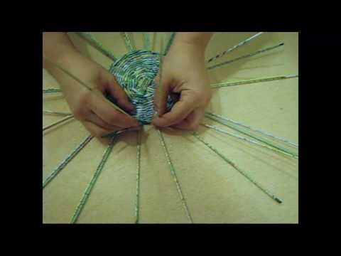 How to braid a lid. Part 1. - YouTube