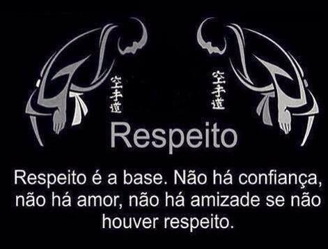 respeito...