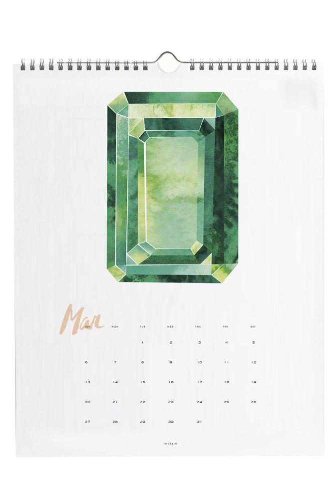 Gem + Mineral 2016 Calendar