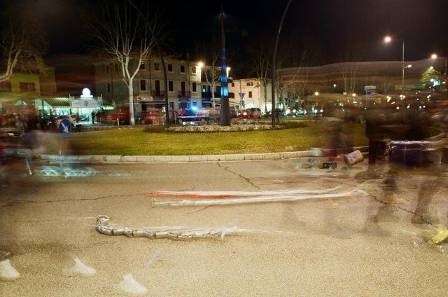 Batar Marso (Battere marzo) San Giovanni Lupatoto 28 febbraio 2013 - Foto di Alba Rigo