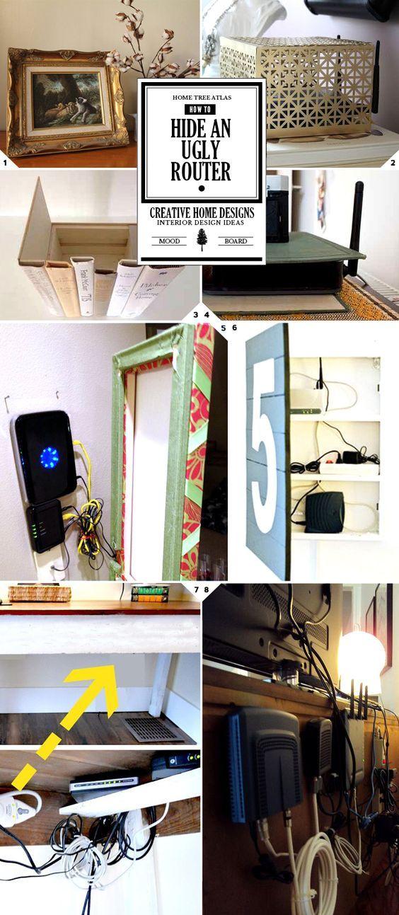 30 Best Hide Modem Amp Router Images On Pinterest Hide
