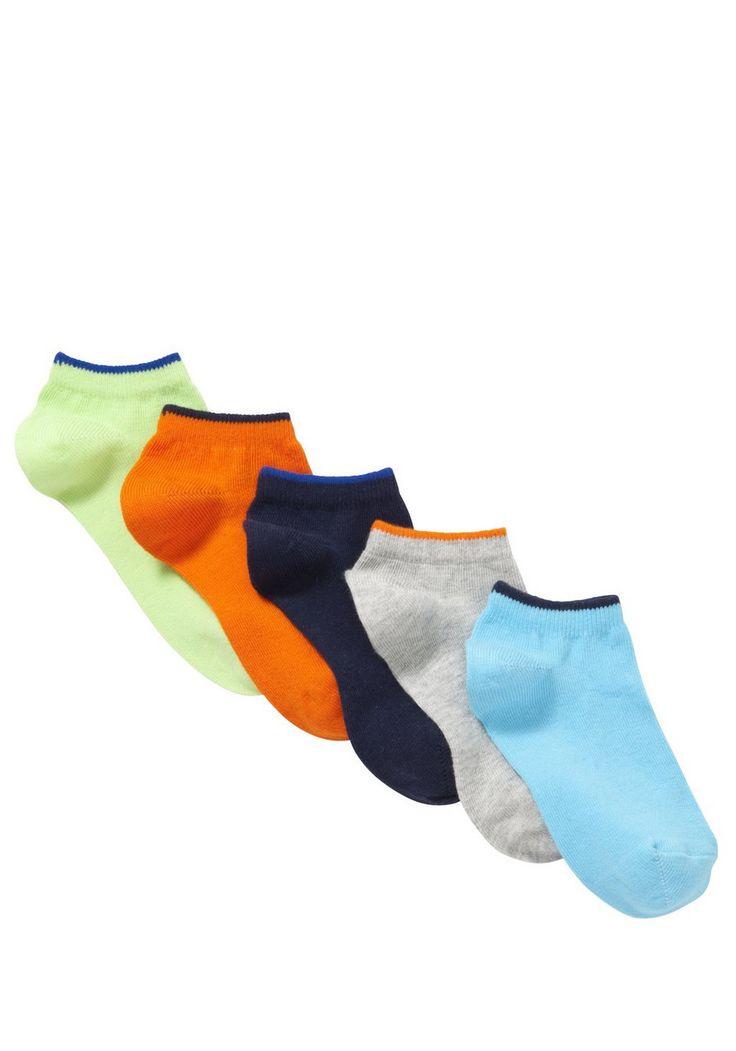 Clothing at Tesco | F&F 5 Pair Pack of Trainer Socks > socks > Socks & Underwear > Kids