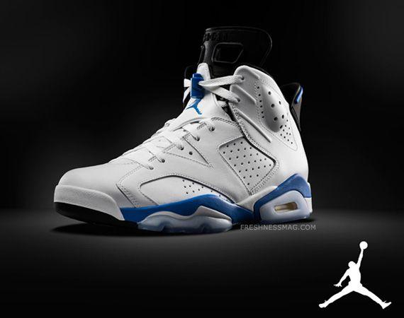 """Air Jordan 6 Retro - """"Sport Blue"""""""
