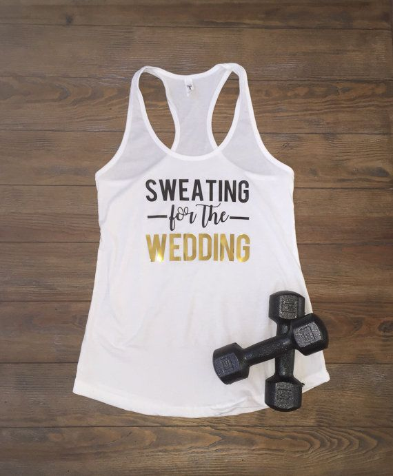 Bride shirt bride to be bride workout shirt by WifeLifeDesigns