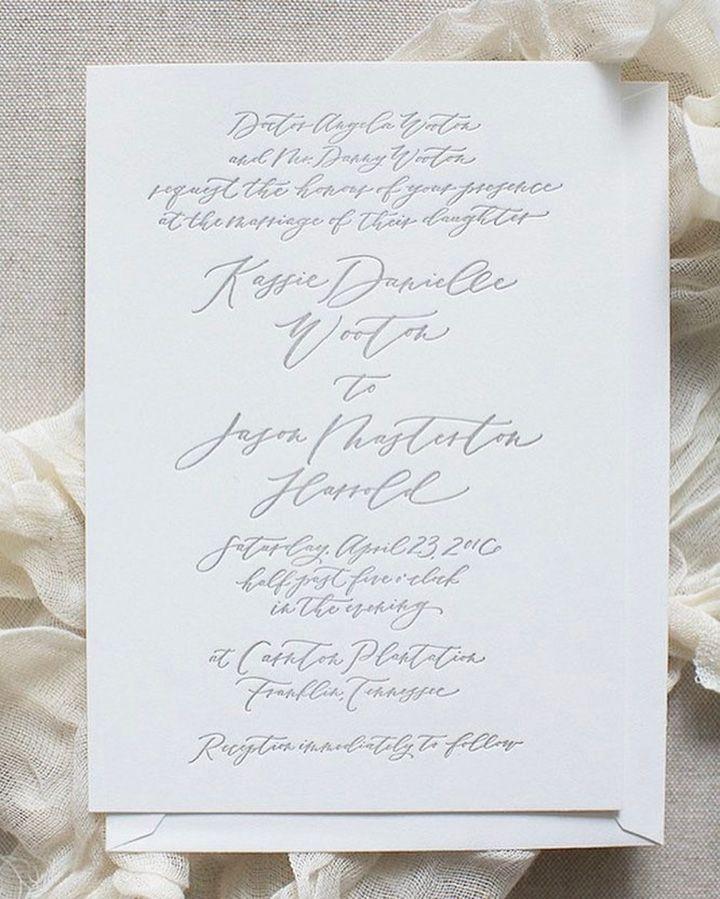 361 best Wedding Invitations images on Pinterest | Bridal, Bride ...