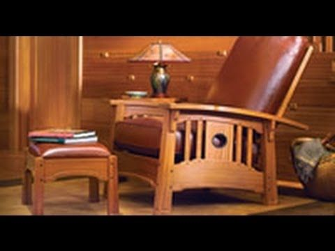 Stickley Morris Chair: Stickley Leather