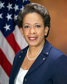 "The 83rd US Attorney General Loretta Elizabeth Lynch, she was born on 5/21/1959 in Greensboro, NC. On 4/27/2015 she became the first Black female ""Top Cop"" ever."