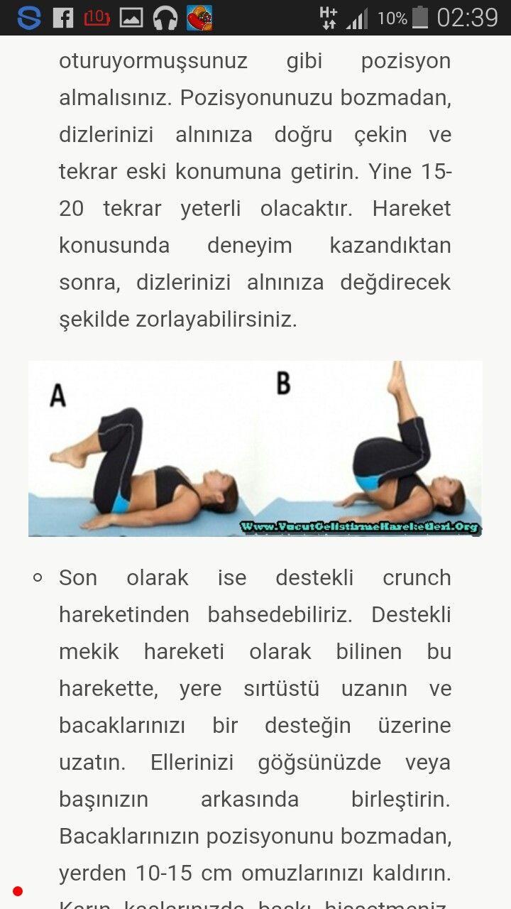 32 Günde Göbek Yağlarınızı Eriten 5 Hareket