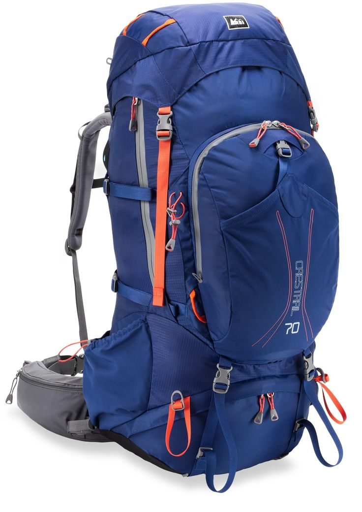 REI Crestrail 70 Pack back view