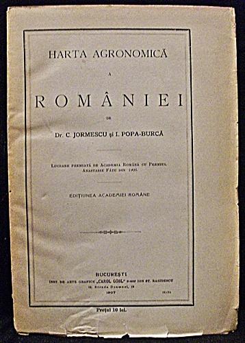 Harta Agronomica A Romaniei