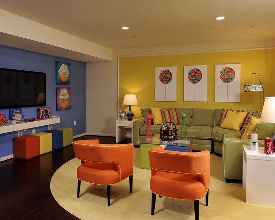 Kids Playroom Family Room Ideas 153 best game room/lounge images on pinterest | architecture