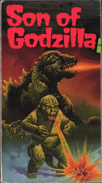 Son of Godzilla (1967) - Scientists experimenting with changes in weather on a tropical island get more than they bargained for when Godzilla shows up to battle humongous insects and protect his newborn child.