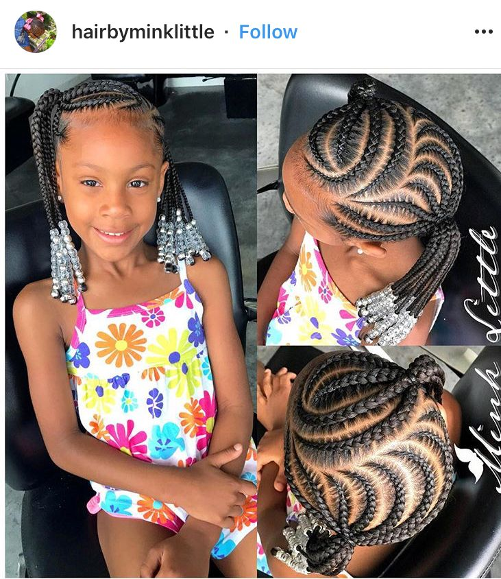 First Day Of School Black Kids Hairstyles