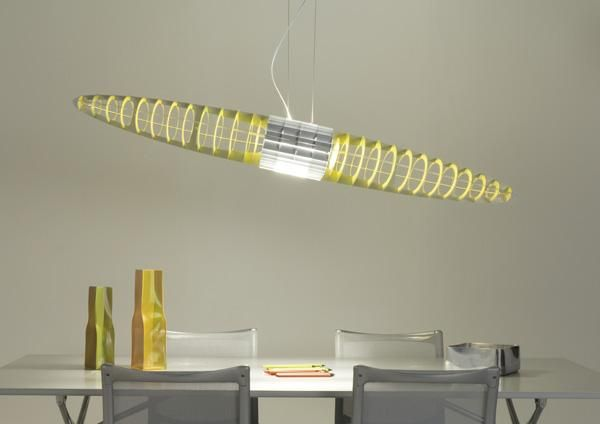 The edition in an extra-large format of an icon of Luceplan production. Twice as large in its dimensions and its visual impact, #QueenTitania #suspensionlamp has been designed to light large areas. The aluminium lamellar shell is made up of an ordered sequence of aluminium ribs, which reflect and dematerialise the source of light. http://www.luceplan.com/Prodotti/1/2/108/Queen-Titania