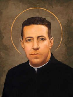 Saint Alberto Hurtado Cruchaga, S.J. (born Luis Alberto Hurtado Cruchaga on January 22, 1901, Viña del Mar, Chile - August 18, 1952, Santiago, Chile), popularly known in Chile as Padre Hurtado (Spanish: Father Hurtado), was a Chilean Jesuit priest, lawyer, social worker and writer of Basque origin, founder of the Hogar de Cristo foundation