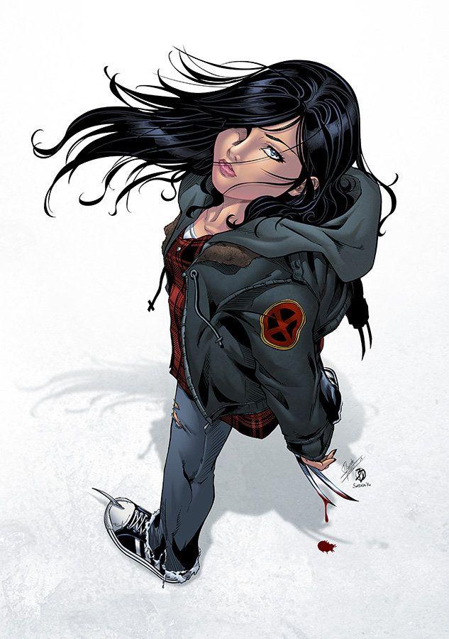 Me encanta de personaje de comics de X-23