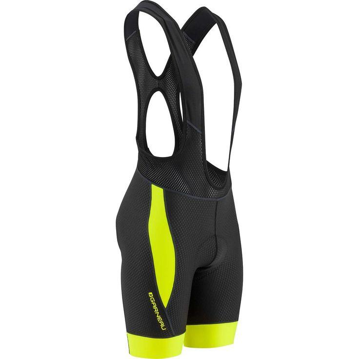 Louis Garneau Men's CB Carbon 2 Cycling Bib Shorts, Bright Yellow, XX-Large