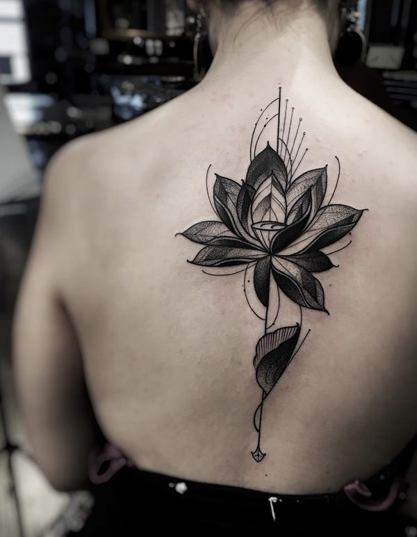 Lotustattoo Flower Small Color