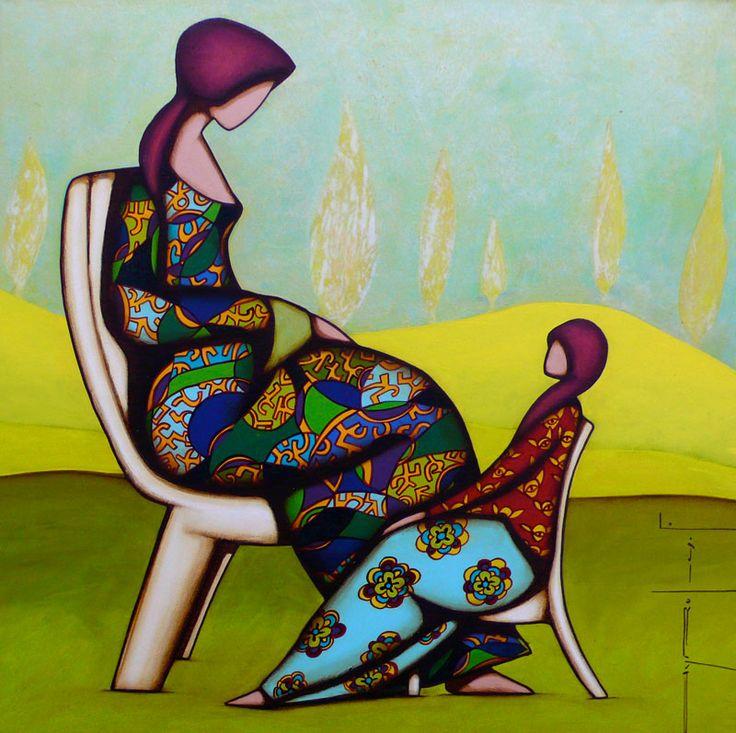 Il mondo di Mary Antony: I dipinti etnici di Franck Ayroles