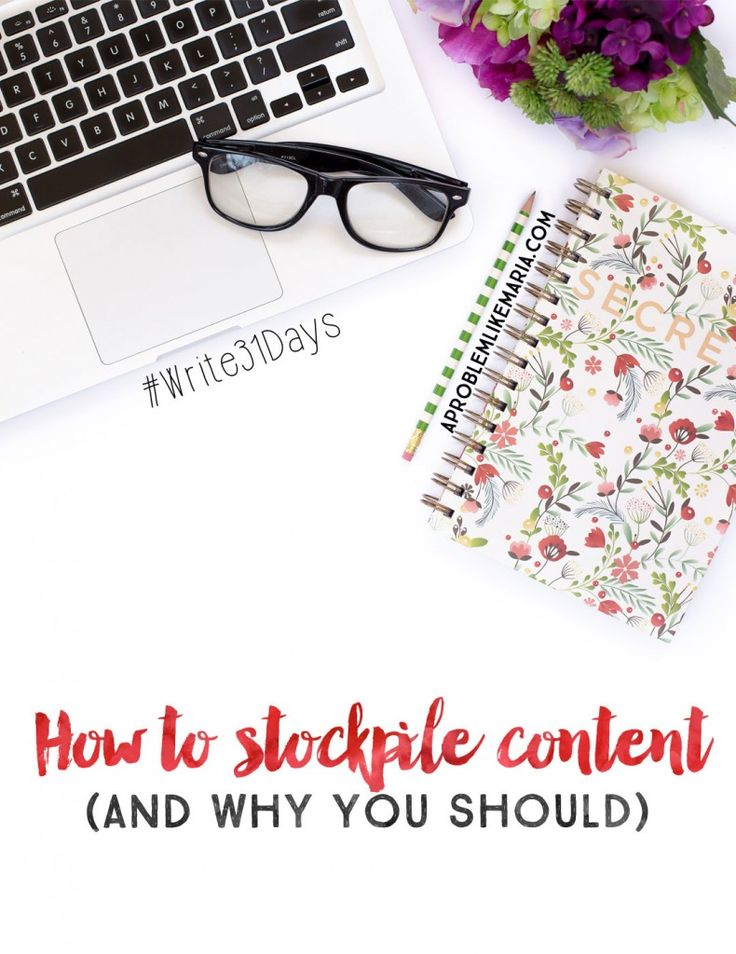 how-to-stock-pile-content