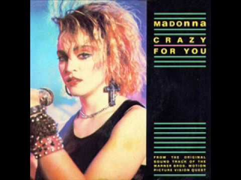 "Madonna -- ""Crazy For You"""