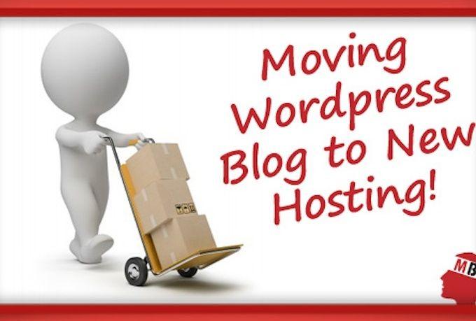 θελει προσοχη και καποιες γνωσεις για να κανεις τη μεταφορά wordpress σε άλλο server με ασφαλεια...