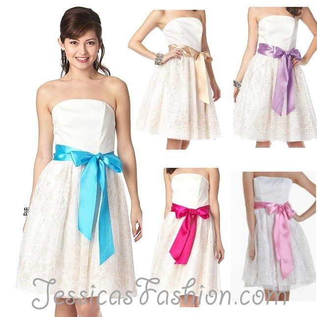 Graduation dress original color