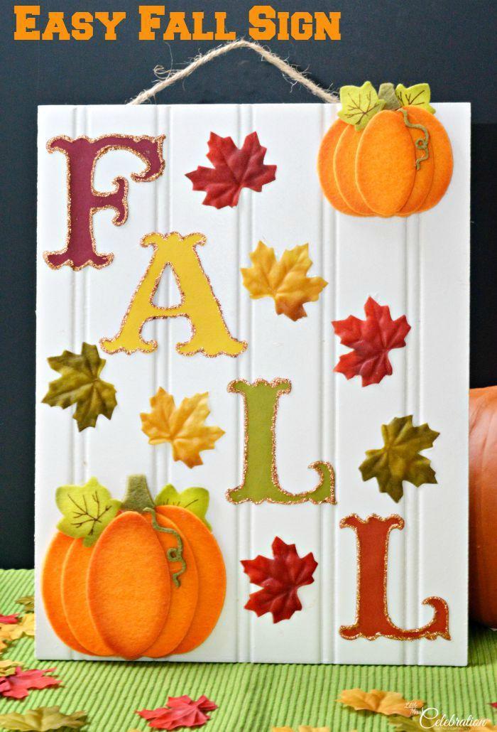 30+ Fun fall crafts easy ideas