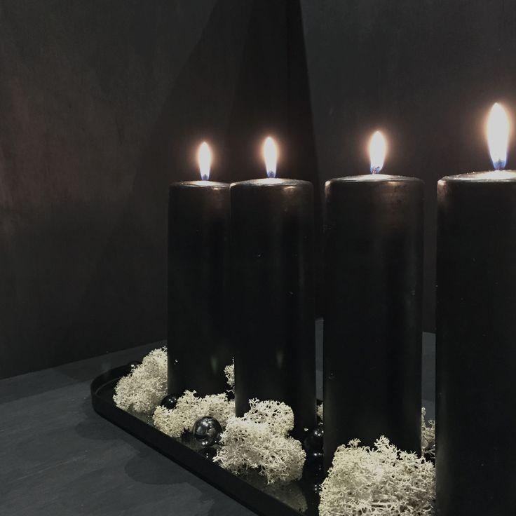 AYTM Margo mirror tray, black
